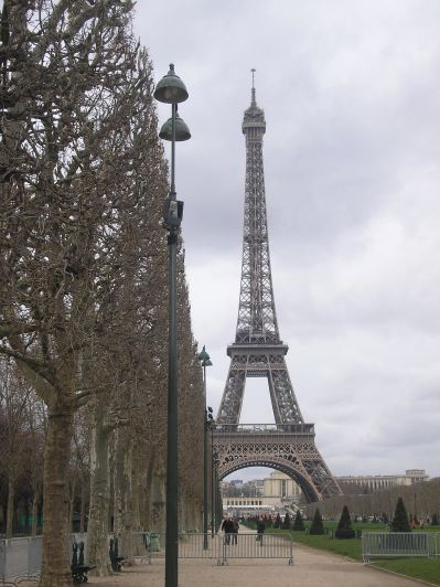 My trip to Paris - photograph supplied by Caroline layt