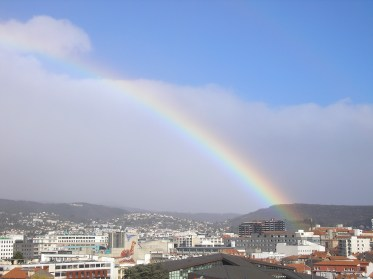 Clermont_Ferrand rainbow Photograph By Caroline Layt - Photograph Caroline Layt