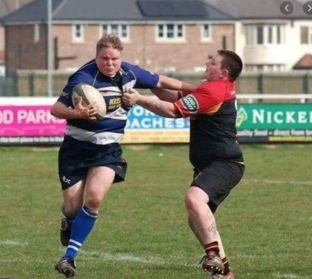 Verity Smith playing for Halifax women pre-transition